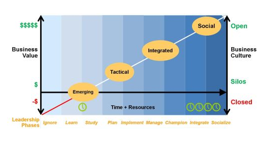 Social Media Strategy Learning Curve and Framework